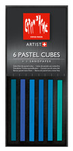 Pastel Cube Assorted Colour Set - Ocean | 7806.006
