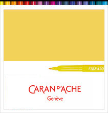 Fibralo Fibre-Tipped Pen Yellow   |  185.010