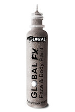 Global FX Face & Body Paint 36ml - Silver