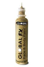 Global FX Face & Body Paint 36ml - Soft Gold