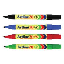 Artline Marker 70 Bullet Tip - Black
