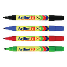 Artline Marker 70 Bullet Tip - Red
