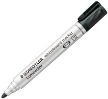 Steadtler Lumocolor Whiteboard Marker - Black