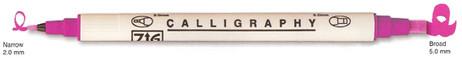 Zig Calligraphy Marker - Salmon