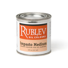 Rublev Oil Medium Impasto Medium - 8 fl oz