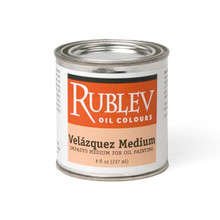 Rublev Oil Medium Velazquez Medium - 8 fl oz