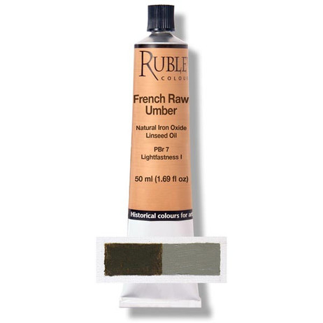 Rublev Artists Oil 50ml - S1 French Raw Umber