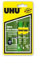 UHU Epoxy Ultra Strong Glue - 2 x 10ml