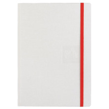 Caran D'Ache Notebook Canvas Cover A5 Blank Pages - White   |  454.501