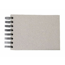 """Wire-O Sketchbook 130gsm 110pgs - A6/5.8"""" x 4.1"""" Landscape, Pasteboard"""