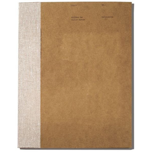 O-Check Design Sketchbook 176pgs - 20.5cm x 29cm - Brown