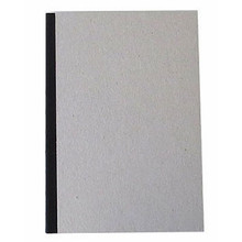 "Pasteboard Cover Sketchbook 100gsm 144pgs - A5/5.8"" x 8.3"" - Black"