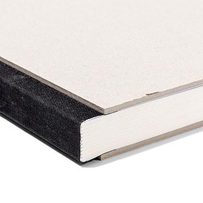 Pasteboard Cover Sketchbook - Black Binding