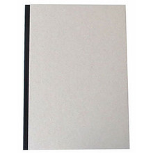 "Pasteboard Cover Sketchbook 100gsm 144pgs - A4/8.3"" x 11.7"" - Black"