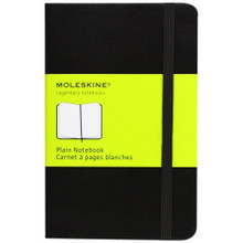 Moleskine Notebook 192 Pages Hardcover - Pocket (9cm x 14cm) - Plain