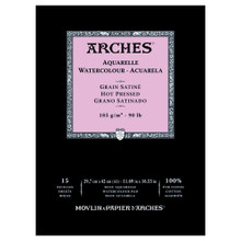 Arches Watercolour Pad Smooth 185GSM - A3