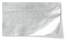 Metallic Flower Tissue Paper Pack - Silver