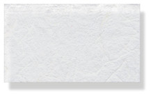 Mulberry Silk Paper With Fibres - White