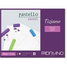 Fabriano Tiziano Pastello Pastel Pad - White Sheets - 23cm x 30.5cm