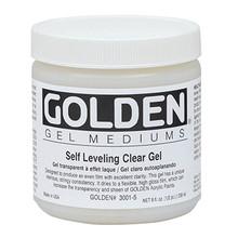 Golden Self-Leveling Clear Gel