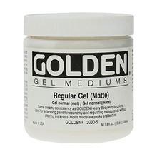 Golden Regular Gel (Matte) 236ml