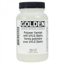 Golden Polymer Varnish with UVLS (Satin)