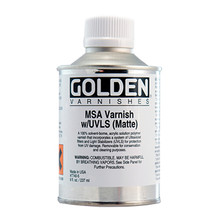 Golden MSA Varnish with UVLS (Matte) 473ml