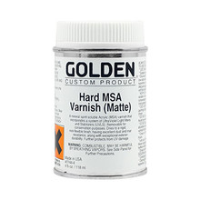 Golden Hard MSA Varnish (Matte) 118ml