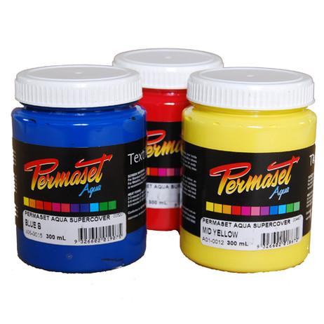 Permaset Fabric Paint Supercover Jars