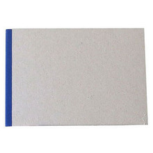 "Pasteboard Cover Sketchbook 100gsm 144pgs - A5/8.3"" x 5.8"" Landscape - Blue"