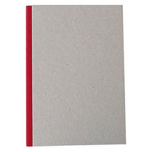 "Pasteboard Cover Sketchbook 100gsm 144pgs - A5/5.8"" x 8.3"" - Red"