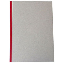 "Pasteboard Cover Sketchbook 100gsm 144pgs - A4/8.3"" x 11.7"" - Red"