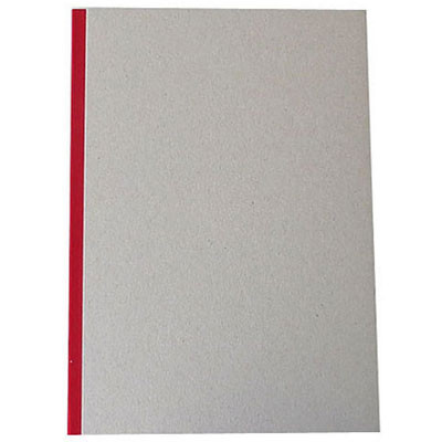 """Pasteboard Cover Sketchbook 100gsm 144pgs - A4/8.3"""" x 11.7"""" - Red"""