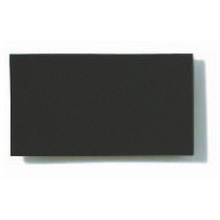 Opaque Coloured Polypropylene Matte - Black