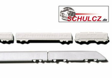 Polystyrene Trains White - 1:500