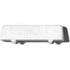 White Polystyrene City Bus - 1:500