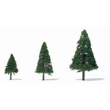 String and Wire Conifers - H=25mm