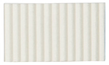 Corrugated Cardboard Strips Broad - White
