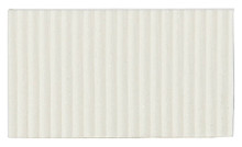 Corrugated Cardboard Strips Fine - White