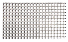 Aluminium Fine Perforated Plate - sq.-holed, sq. pitch (QG 1.2/1.7) 0.5mm x 250mm x 400mm