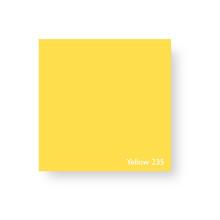 Acrylic Perspex Sheet 400mm x 800mm x 2mm - Yellow