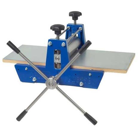 Printing Press with Printing Plate 35cm x 70cm