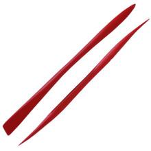 Modelling Stick Red - Stiff Flat/Half Round