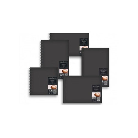 Academia Squared Spiral Bound Drawing Book 160gsm 30cm x 30cm