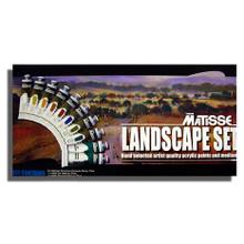 Matisse Structure Acrylics Landscape Set - 10 x 75ml