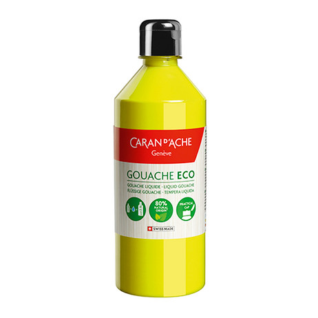 Gouache Eco 500ml Lemon Yellow Fluo - 2371.240