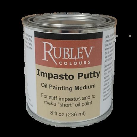Rublev Oil Medium Impasto Putty 8 Fl Oz   530-32508
