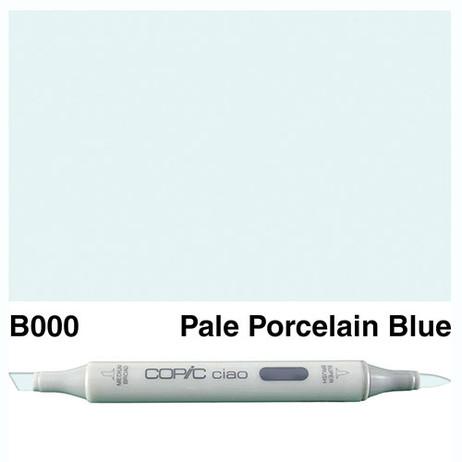 Copic Ciao Markers B000 - Pale Porcelain Blue