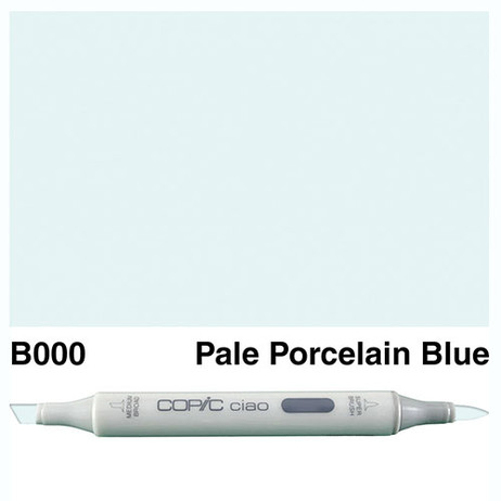 Copic Ciao Markers B000 - Pale Porcelain Blue