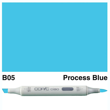 Copic Ciao Markers B05 - Process Blue